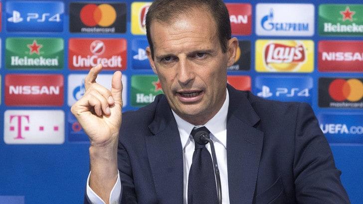 Juventus, Allegri: tutti giù dal pullman, poi discorsetto negli spogliatoi