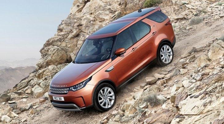 Land Rover Discovery, ecco la quinta generazione