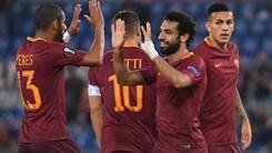Risultati Europa League: Roma-Astra 4-0, Genk-Sassuolo 3-1