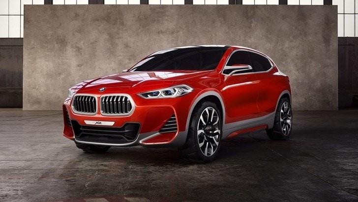BMW X2, svelato il prototipo al Salone di Parigi