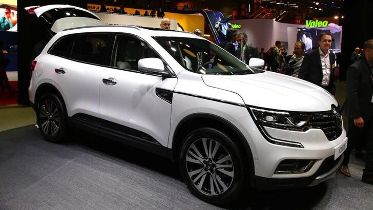 Renault Koleos, al Salone di Parigi debutta il nuovo SUV