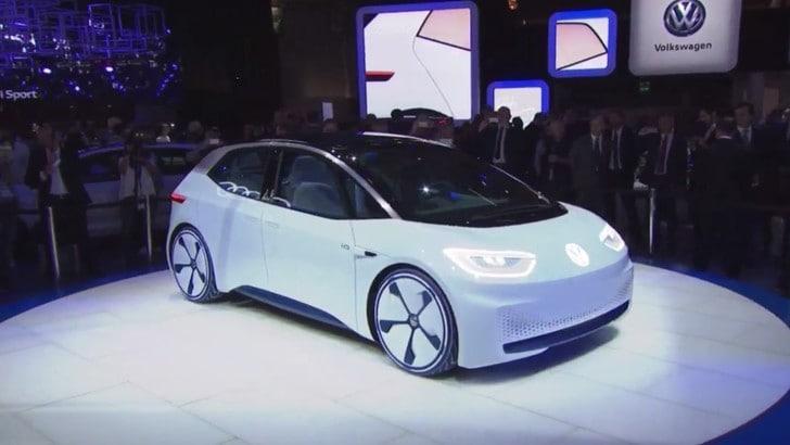 Volkswagen ID al Salone di Parigi 2016