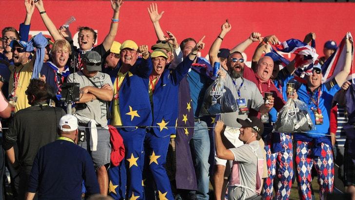 Ryder Cup, quando il golf imita il calcio