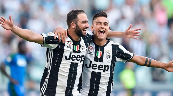 Juventus, Higuain-Dybala: la coppia da 50 gol