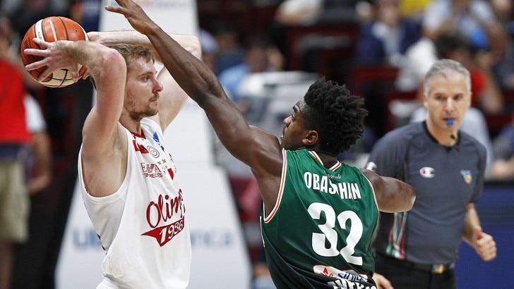 Basket, Serie A: Milano senza rivali a 1,35
