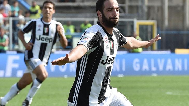 Juventus, Dybala & Higuain show: 3-0 all'Empoli, sempre in testa!
