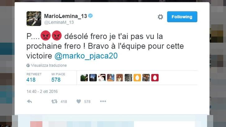 Juventus, da Lemina scuse a Pjaca su Twitter: «Non ti ho visto fratello»