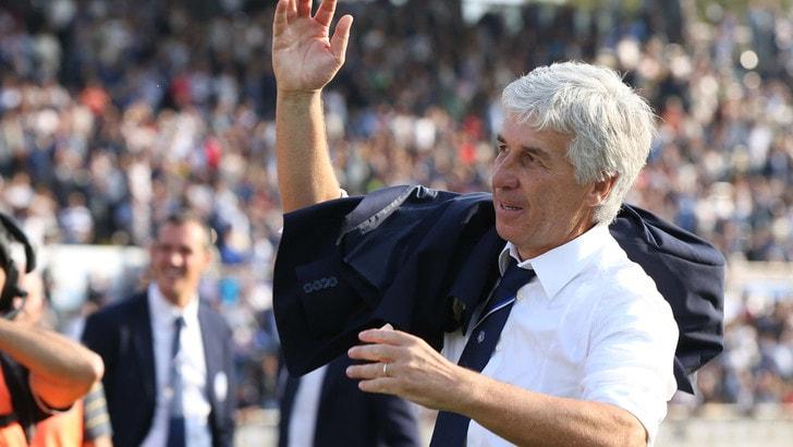 Serie A, Gasperini: «Atalanta, che soddisfazione»