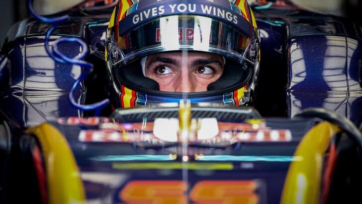F1 Toro Rosso, Sainz: «Abbiamo fatto una buona gara»