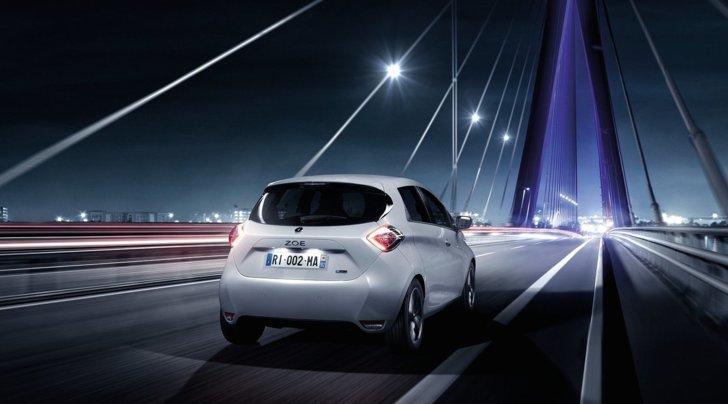 Renault Zoe, in vendita la versione con 400 km di autonomia
