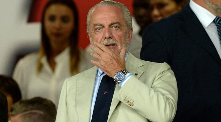 Napoli, De Laurentiis: «Juventus non elegante nell'affare Higuain»