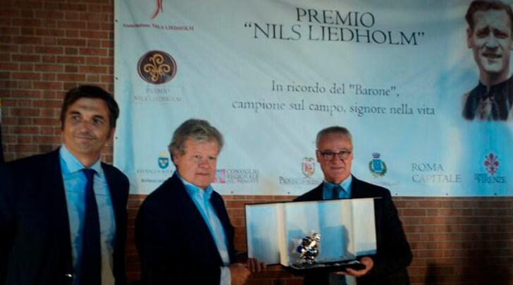 Ranieri riceve il Premio Liedholm 2016