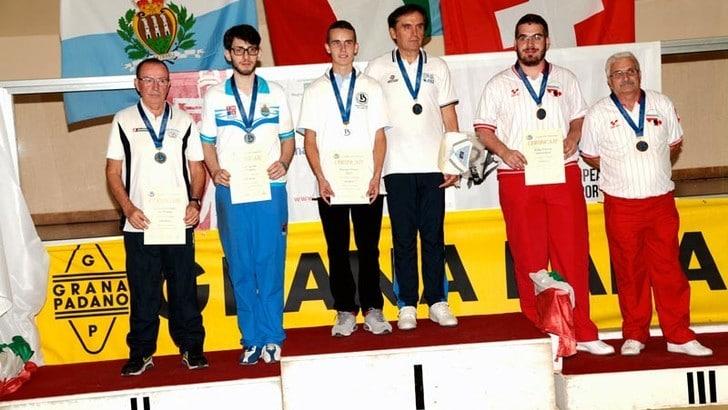Campionati europei, una cascata d'oro per gli azzurri