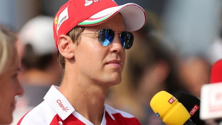F1, Vettel: «L'obiettivo è rialzarsi nelle prossime gare»