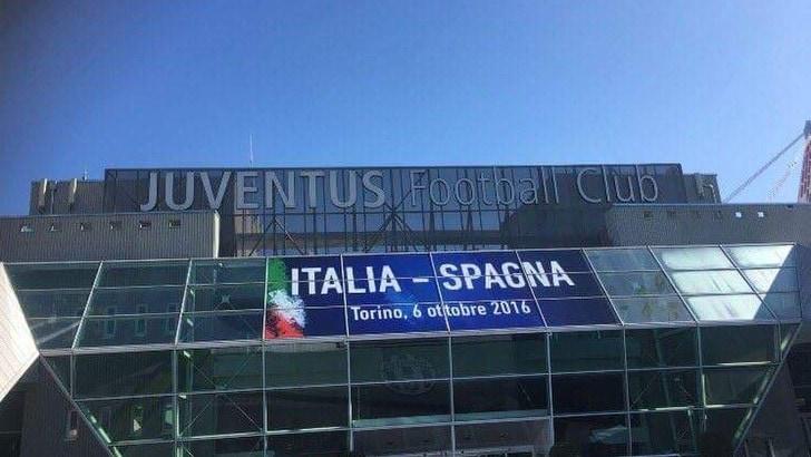 Juventus Stadium, la Figc copre il numero degli scudetti