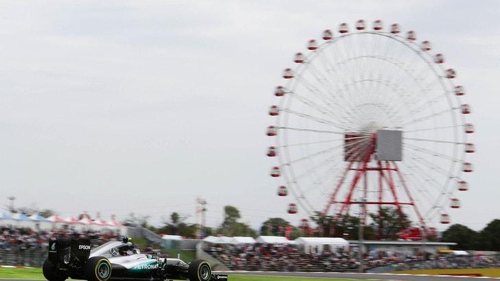 F1 Giappone: Rosberg vola nelle libere, Vettel quinto
