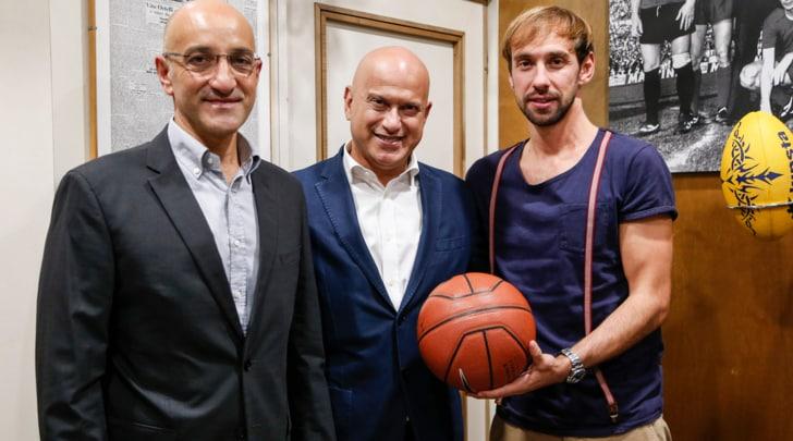 L'Auxilium in redazione a Tuttosport: «Il nostro gioco vi divertirà»
