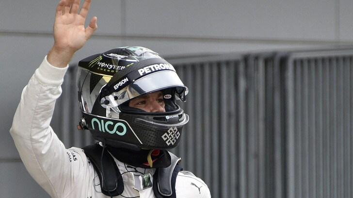 F1, Rosberg: «Non mi aspettavo le Ferrari così vicine»