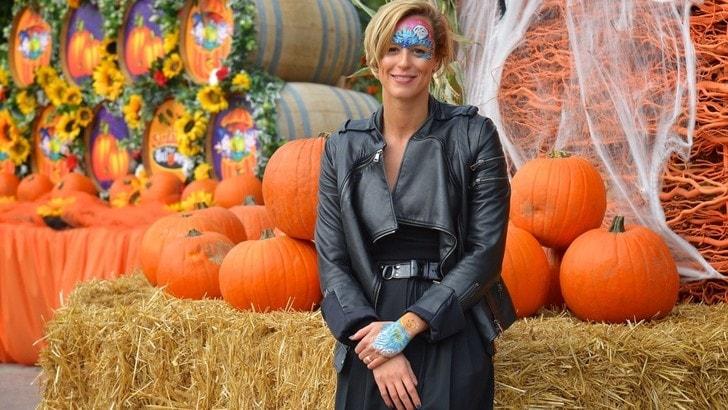 Pellegrini, madrina di Halloween a Gardaland