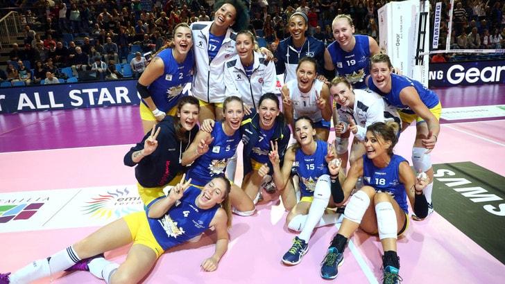 All Star alle Blue Stars di coach Davide Mazzanti