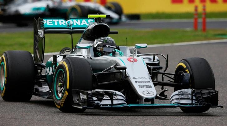 F1, Giappone: Rosberg primo davanti a Verstappen, Vettel quarto