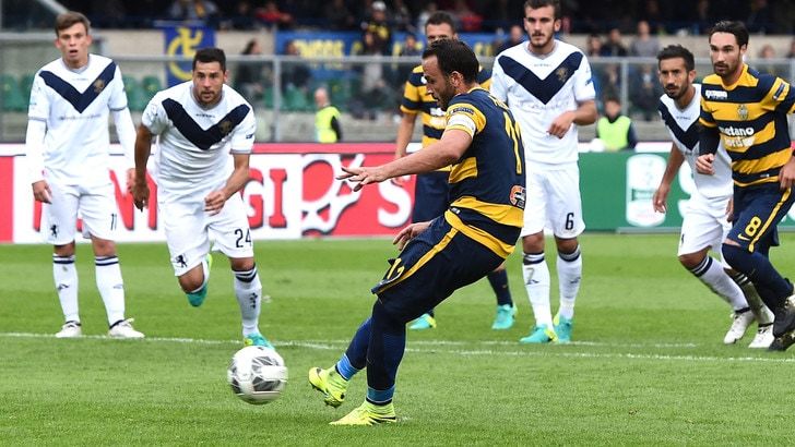Serie B il Verona frena in casa. Finisce 2-2 con il Brescia