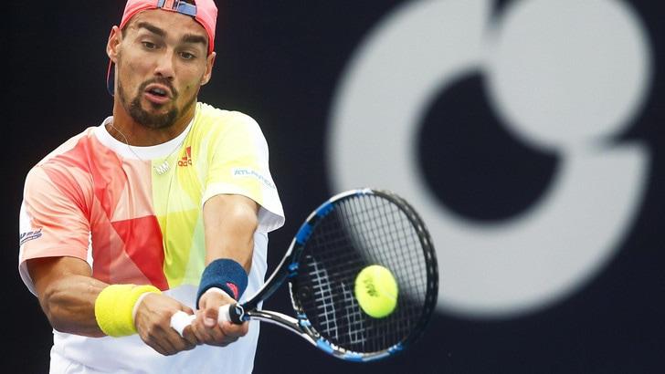Tennis, Masters 1000 Shanghai: Fabio Fognini eliminato da Djokovic al secondo turno