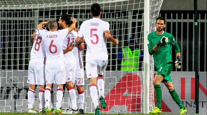 Mondiali 2018: Albania-Spagna 0-2, Diego Costa e Nolito per la testa del girone