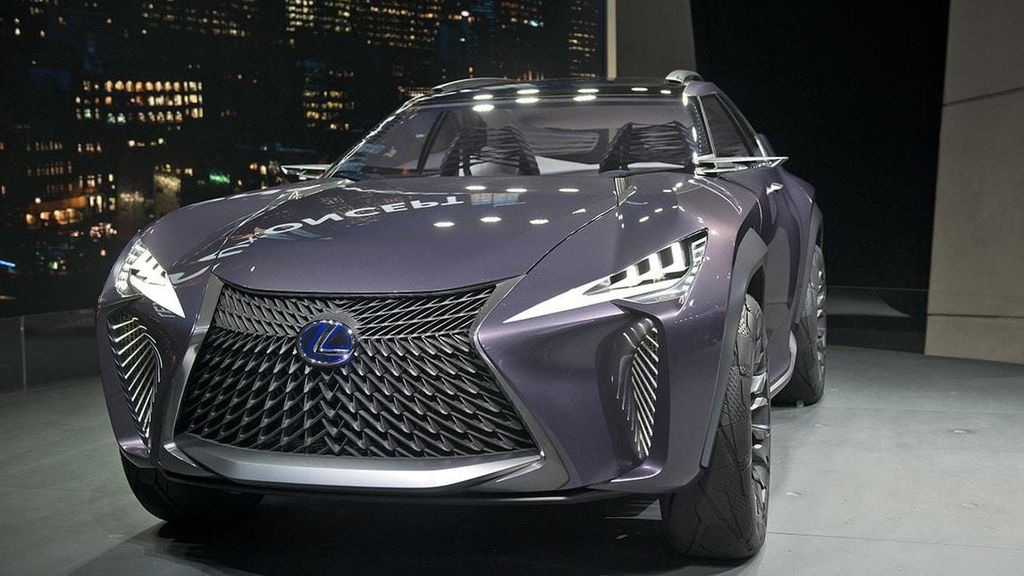 """Lexus UX Concept, un """"ragno"""" al Salone di Parigi"""