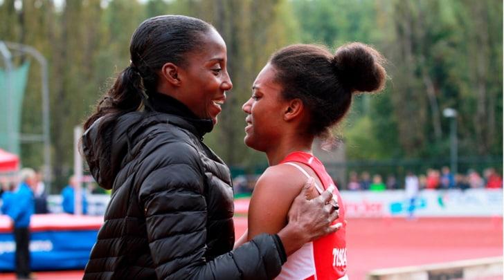 Atletica, Fiona May: «Che emozione la mia Larissa»