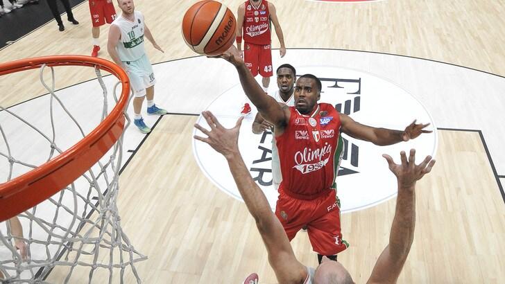 Basket, Eurolega: Milano in quota a 30,00