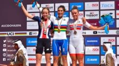 Mondiali di ciclismo: medaglia d'oro per l'azzurra Balsamo