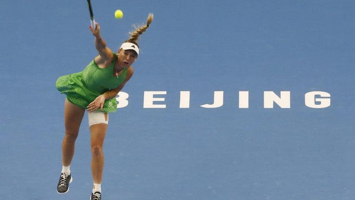 Wta Hong Kong, la Wozniacki è la terza semifinalista