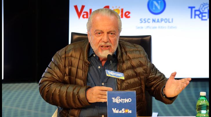 Napoli, De Laurentiis: «Juventus, con 100 milioni in più di fatturato vinco anch'io»