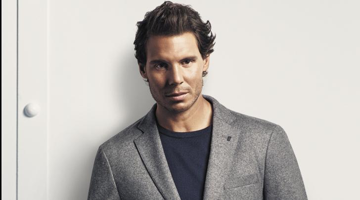 Rafael Nadal per la collezione Tailored di Tommy Hilfiger
