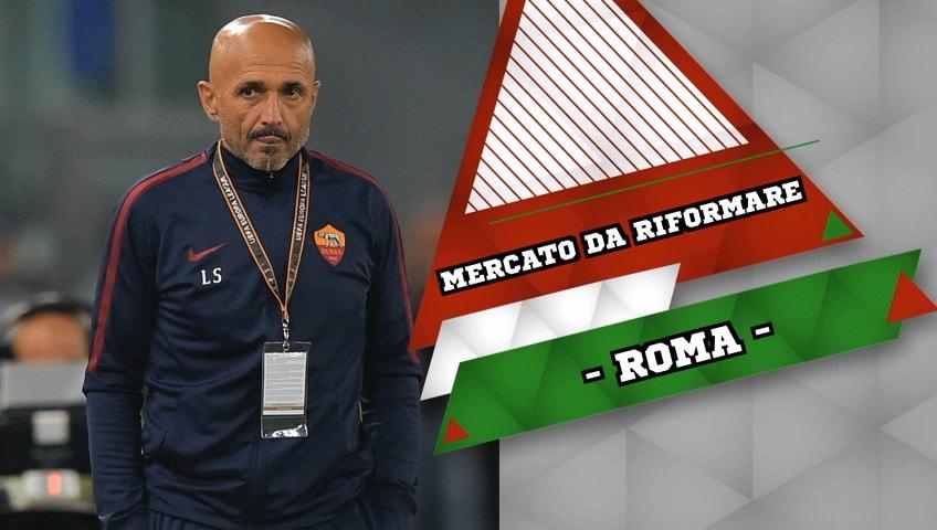 """Roma, Spalletti: """"Calciomercato da riformare"""""""