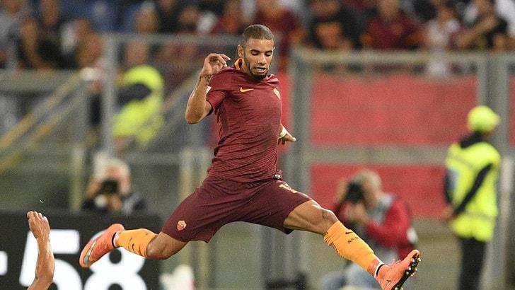 Napoli-Roma, guai per Spalletti: perde Strootman e Bruno Peres