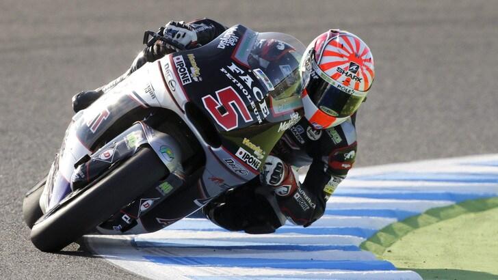 Moto2, Thomas Luthi fa tris a Motegi