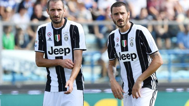 Serie A Juventus, Chiellini ko in allenamento. Convocato Bonucci