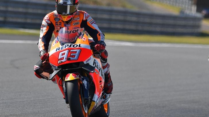 MotoGp, per Marquez è titolo! Rossi e Lorenzo out in Giappone