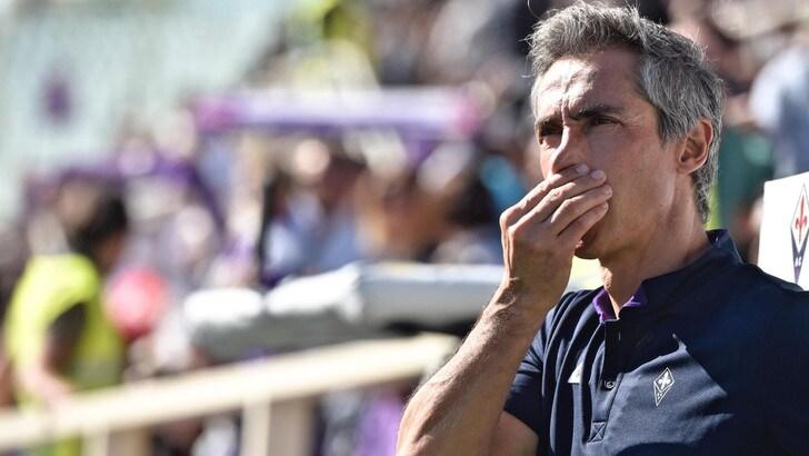 Serie A Fiorentina, Sousa: «L'Atalanta ci ha messi in difficoltà»
