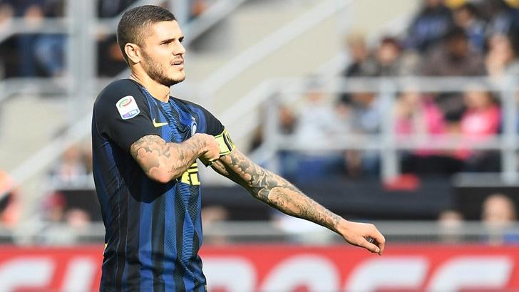 Inter, Icardi posta foto con la squadra: «Forza Inter!»