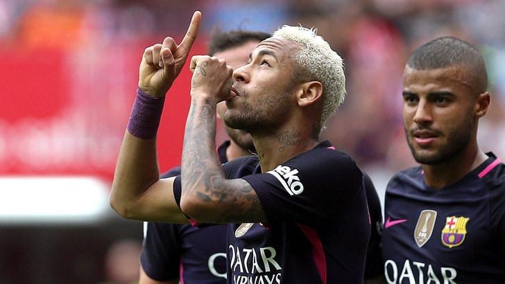 Barcellona, Neymar rinnova fino al 2021