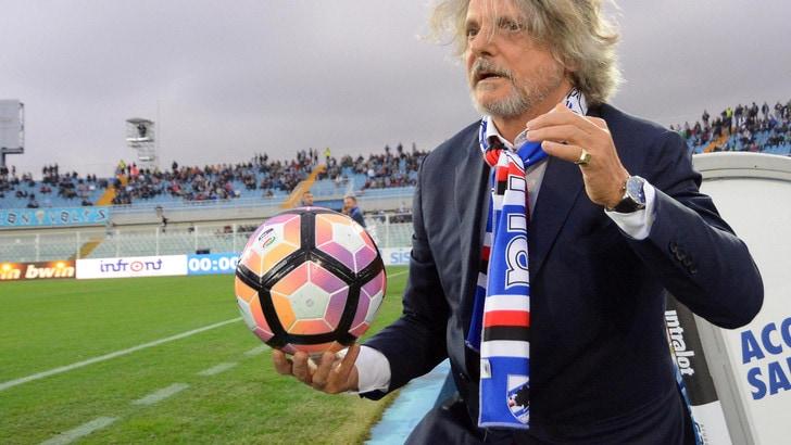 Serie A Sampdoria, Ferrero chiama Pradè. Viviano salta il derby