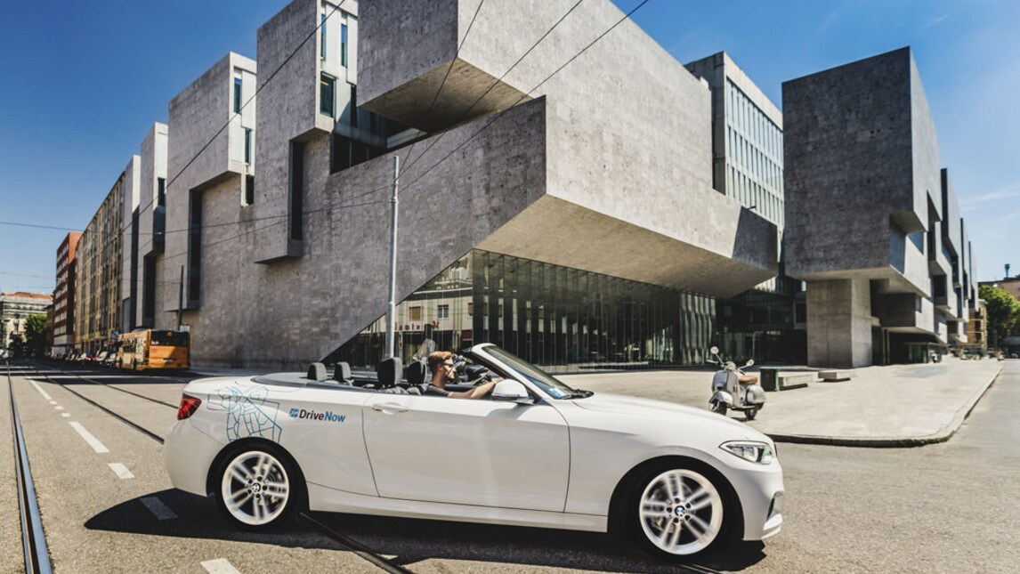 "BMW DriveNow, a Milano il car sharing ""top di gamma"""