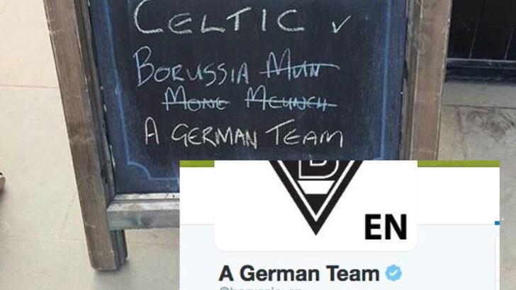 Mönchengladbach? Il Borussia semplifica: «Una squadra tedesca»