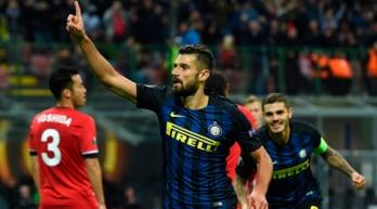 Europa League, Inter-Southampton 1-0: De Boer ringrazia Candreva
