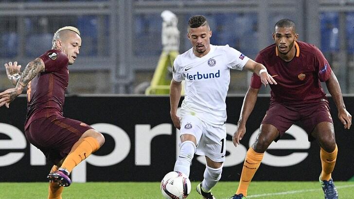 Europa League: delusione Roma, ma in quota giallorossi ok