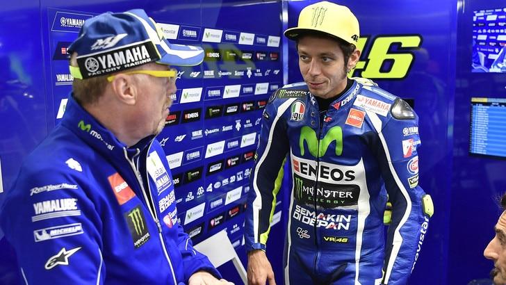 MotoGp Phillip Island, Rossi: «Mi sono divertito, dedico podio al Sic»