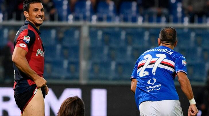 Serie A, Sampdoria-Genoa 2-1: decide l'autogol di Izzo